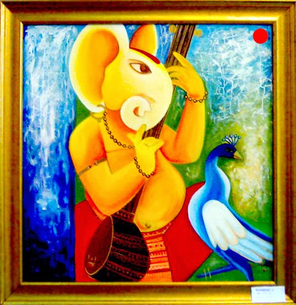 Stunning Canvas Paintings By Shikha Agnihotri