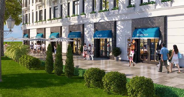 Cho thuê mặt bằng văn phòng, Shophouse Intracom Riverside Vĩnh Ngọc Đông Anh