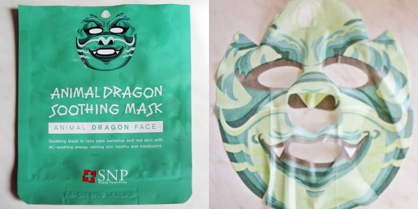 Animal Dragon Soothing Mask.