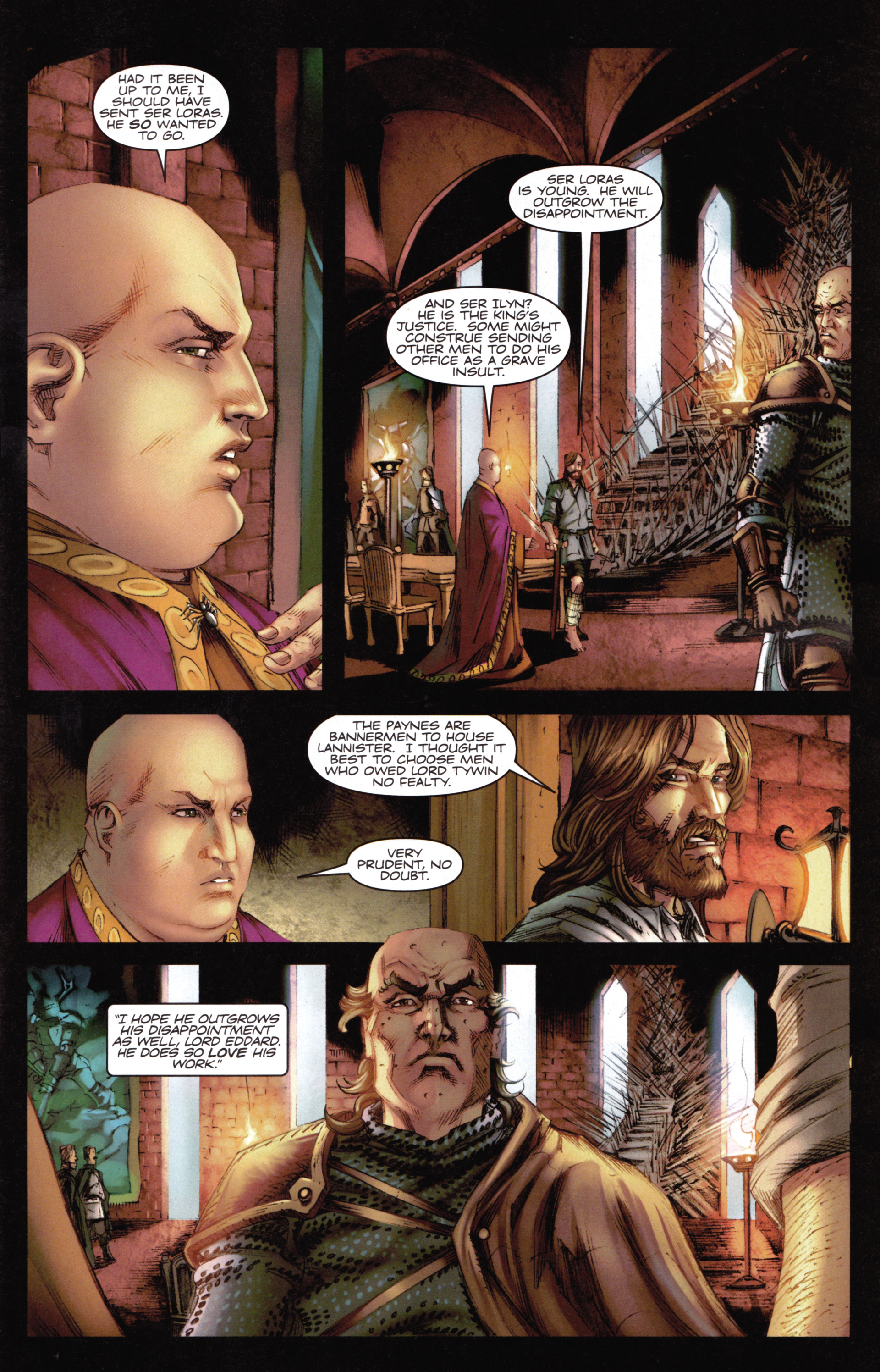 Read online A Game Of Thrones comic -  Issue #14 - 9