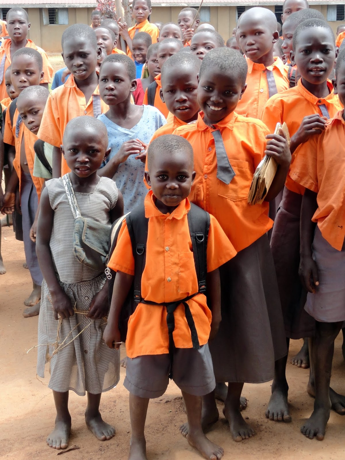 World Vision school children in uganda