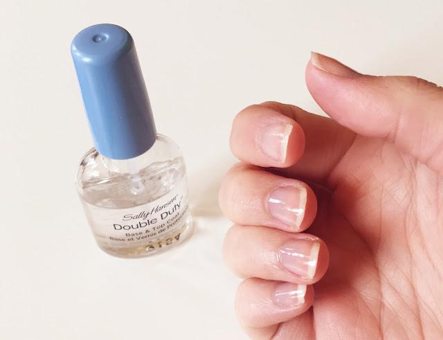 clear base coat nail varnish