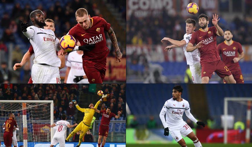 Serie A Roma-Milan è finita 1-1: a Piatek risponde Zaniolo.