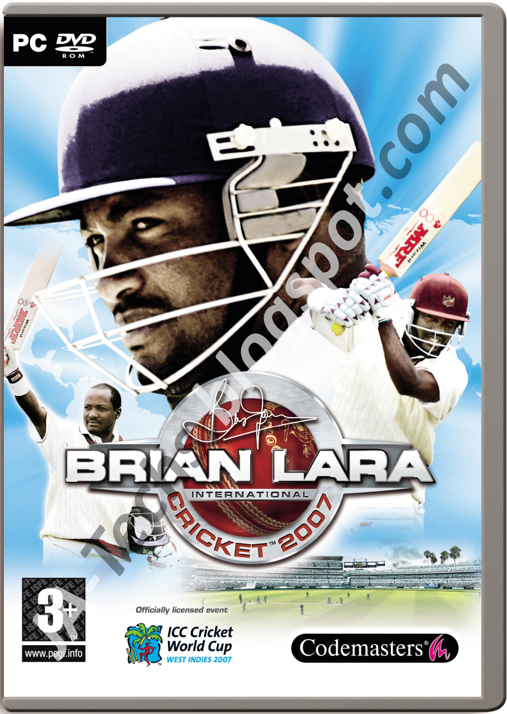 How to install brian lara international cricket 2007 in pc! 100.