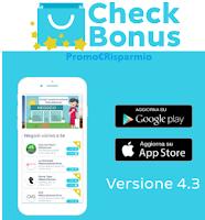 Logo CheckBonus : raccogli punti anche da Coop ma anche con Rana e Regina Wish