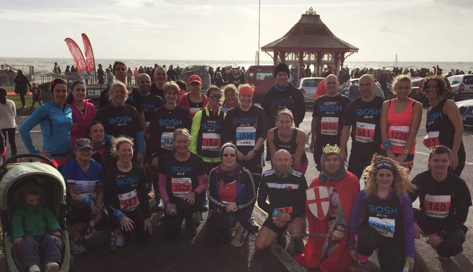 BOSH Run - Poppy Half 2014