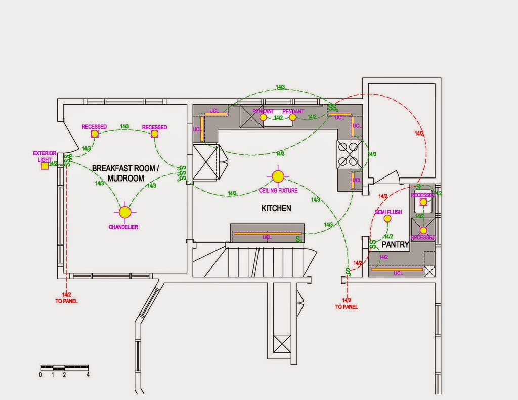 Electric Work: House Electrical Wiring Plan