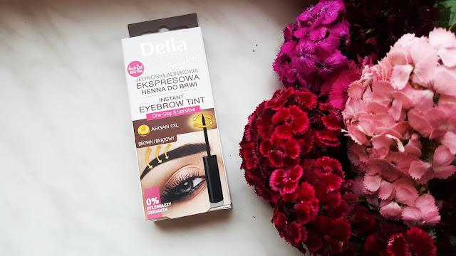 Delia, ekspresowa henna do brwi