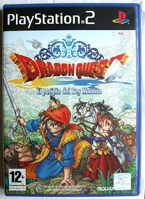 Dragon Quest VIII - El Periplo del Rey Maldito - Caja Pal España delante