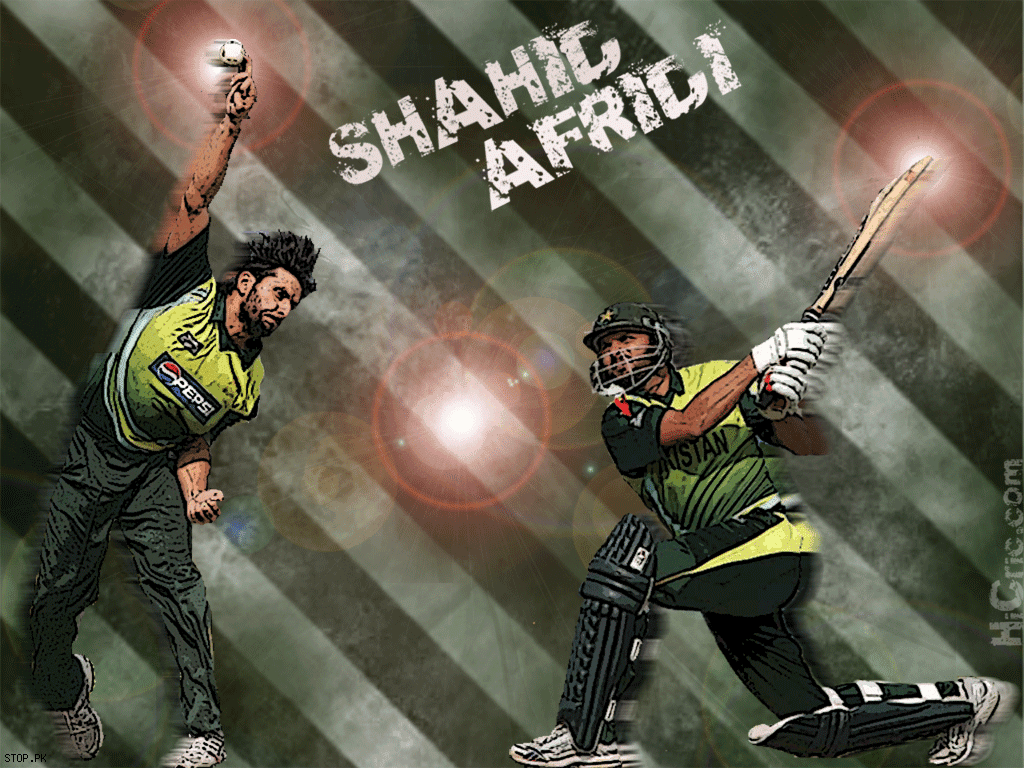 Gallery Olympics Live: Shahid Afridi New HD Wallpapers 2012