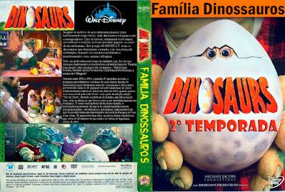 Seriado Família Dinossauros 2º Temporada DVD Capa