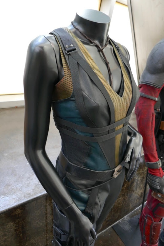 Deadpool 2 Domino movie costume