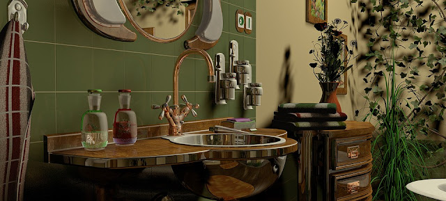 Eclectic Bathrooms – Design Basics You Need to Know   City of Creative Dreams