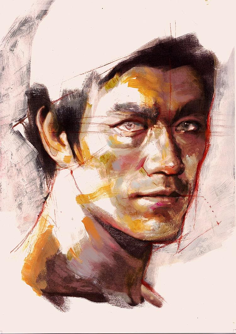 Portrait 230 Bruce Lee