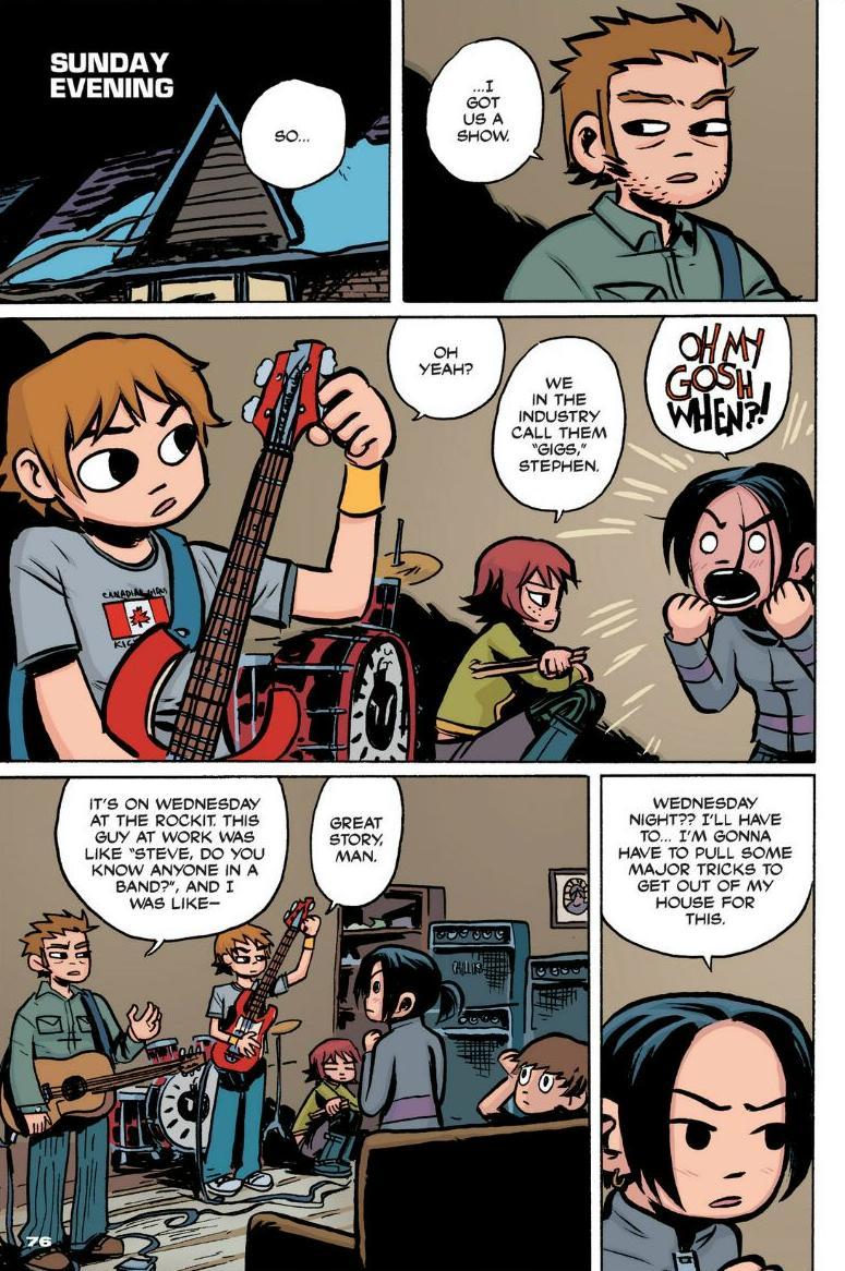 Read online Scott Pilgrim comic -  Issue #1 - 69
