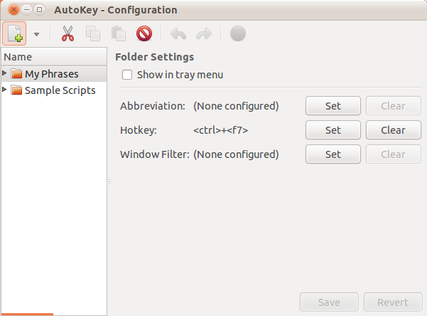 Install Autokey On Ubuntu 11 04 (Natty Narwhal) To Create And Assign