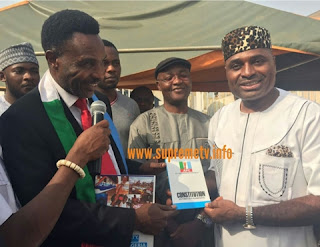 Nollywood Actor, Kenneth Okonkwo Joins APC from PDP in Enugu as Hundreds Turned Up (Photo)