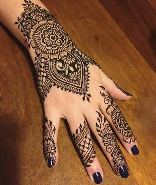 Bridal Mehandi Designs for Hands 11