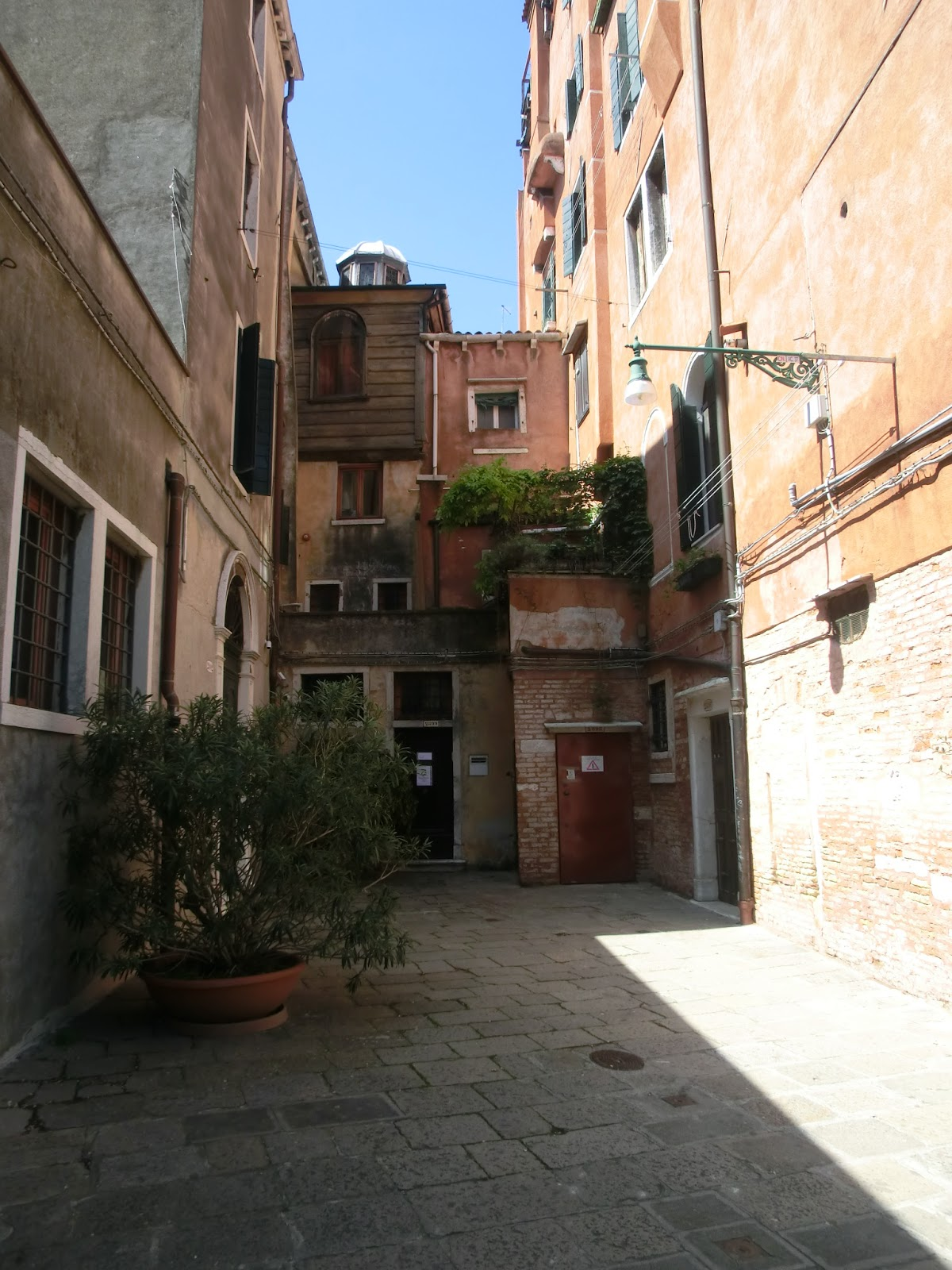 Unterwegs in Venedig: 29.3.1516 - Ghetto in Venedig