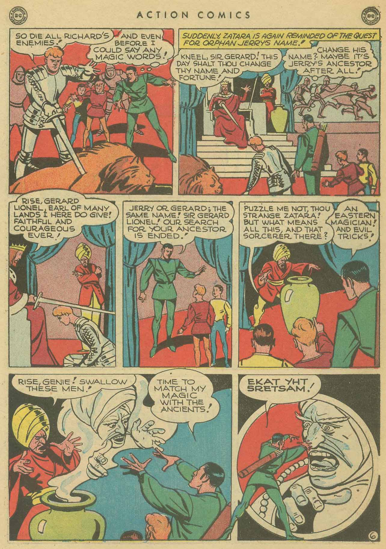 Read online Action Comics (1938) comic -  Issue #102 - 46
