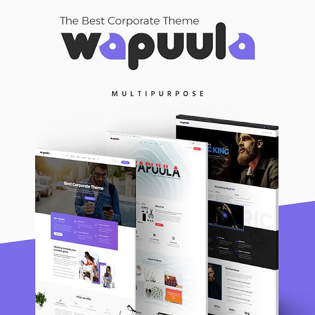 Wapuula - Multipurpose Corporate WordPress Theme