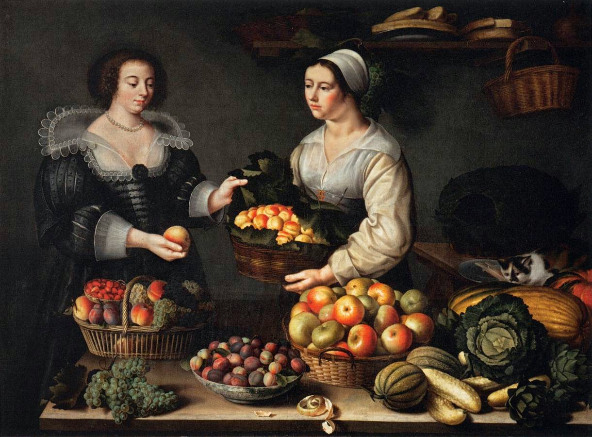 La Marchande de Fruits (1630), Louise Moillon