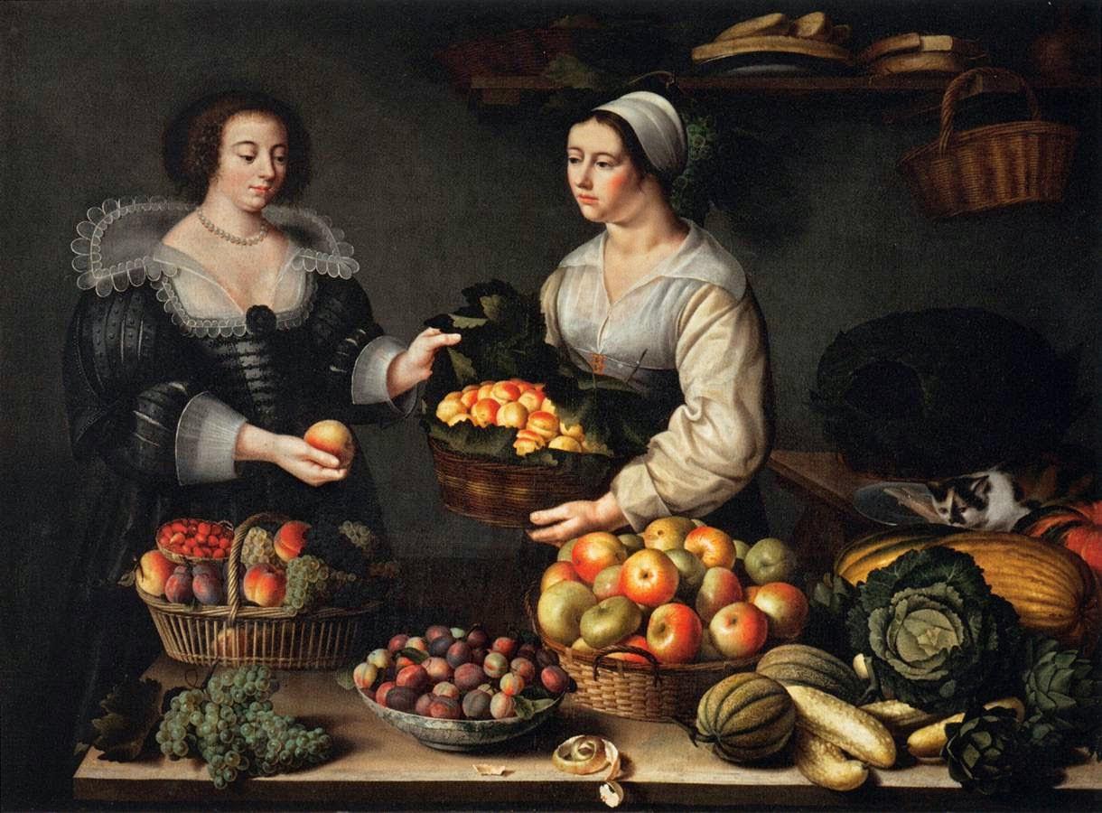 La Marchande de Fruits (1630), Louise Moillon
