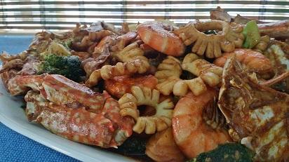 Resepi Shellout Seafood Yang enak