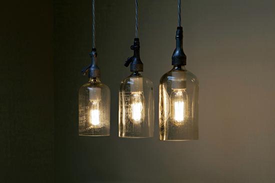lampu unik dari botol bekas