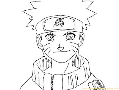 Mewarnai Gambar Naruto - 2