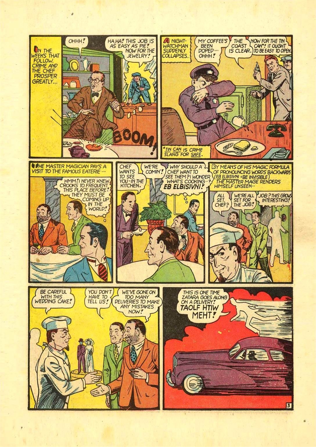 Read online Action Comics (1938) comic -  Issue #54 - 58