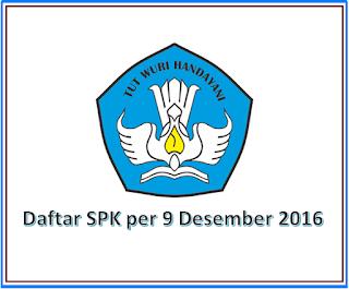 Download Daftar Satuan Pendidikan Kerja Sama per 9 Desember 2016