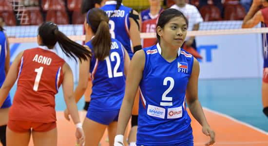 LIST: Leading scorers Philippines vs Hong Kong 2018 Asian Games Volleyball Women