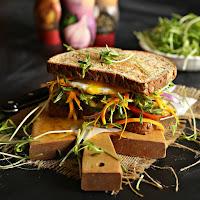 Park Avenue Vegetarian Sandwich