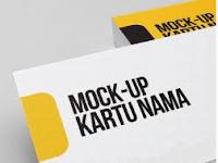 Cara Mockup Kartu Nama Mudah