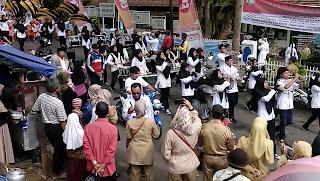 Ribuan Siswa Pawai Ramaikan Tahun Baru Islam