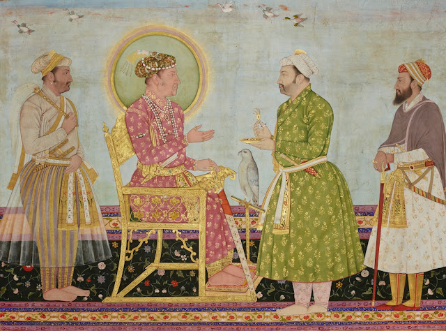 Jahangir offers jewels to Asaf Khan