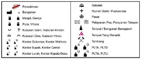 Pengertian Legenda Peta Dan Simbol Simbol Pada Peta Beritake Com