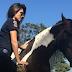 Vídeo mostra momento em que Paula Fernandes é mordida por cavalo