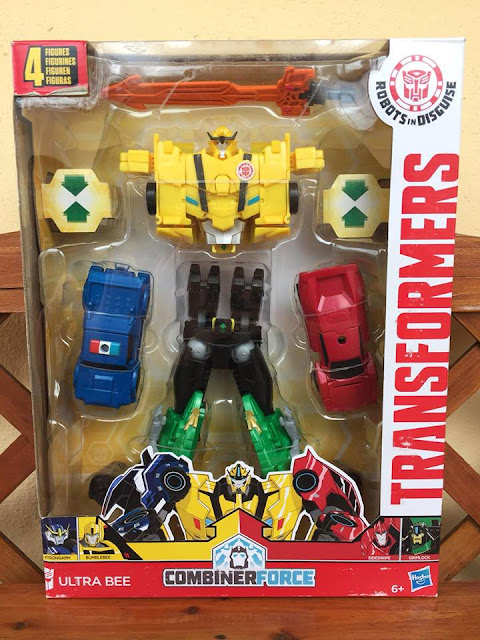 Transformers Robots In Disguise - Ultra Bee Combiner Force Team