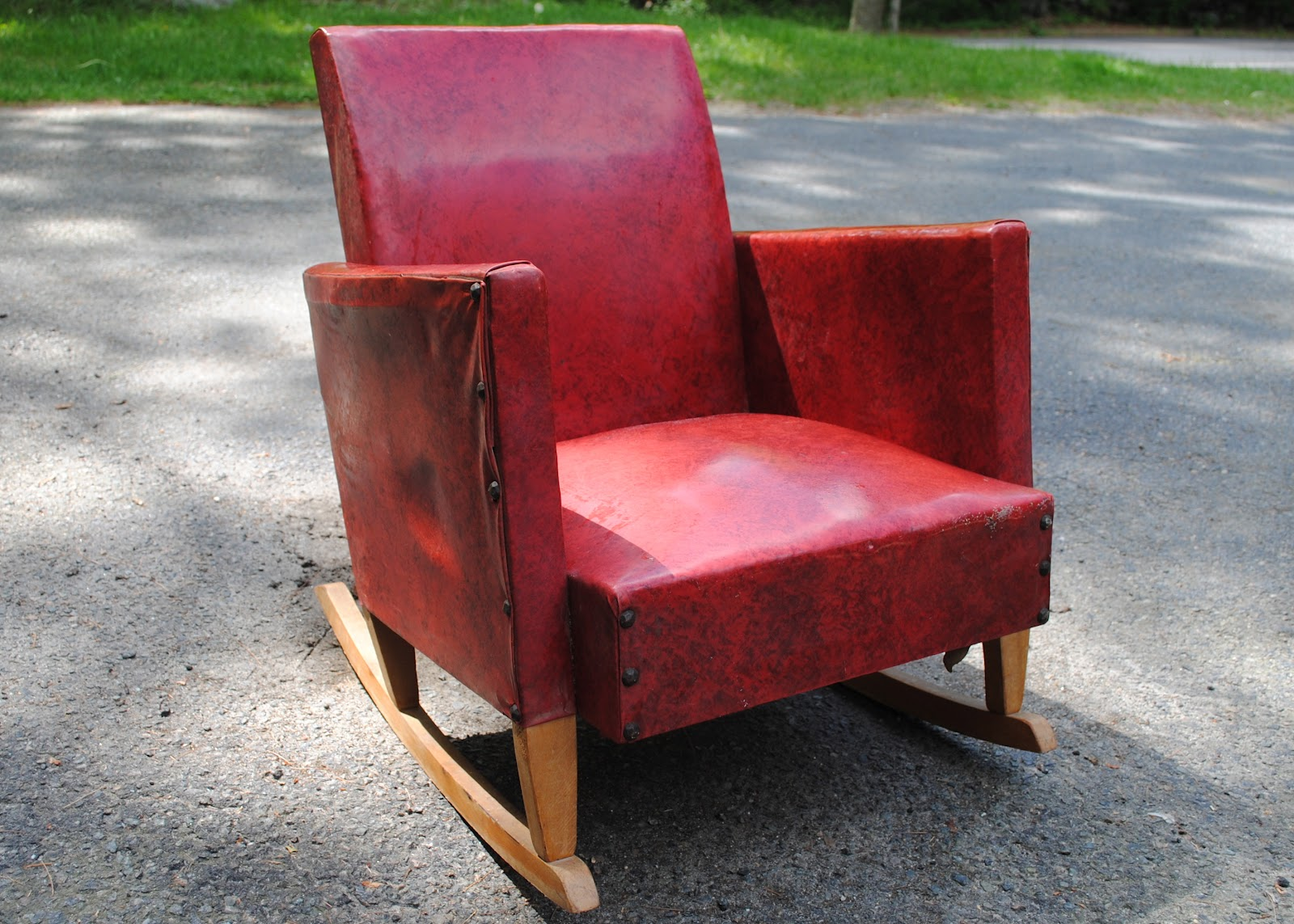 Upholstered Rocking Chair Diy Ish Upholstered Child 39s Rocking Chair The