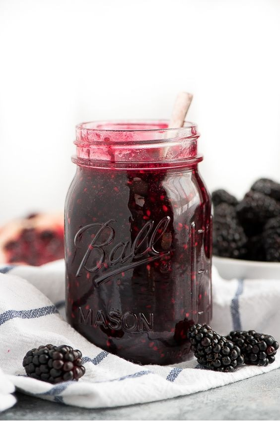 Blackberry Freezer Jam
