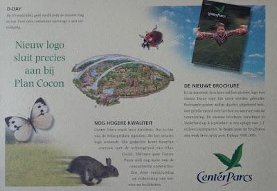 center parcs plan cocon