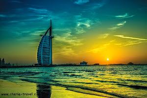 Pemandangan Burj Al-Arab