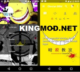 BBM MOD Assassination Classroom v2.13.1.14 Apk Terbaru