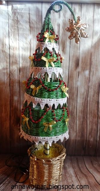 Choinka i życzenia świąteczne :)