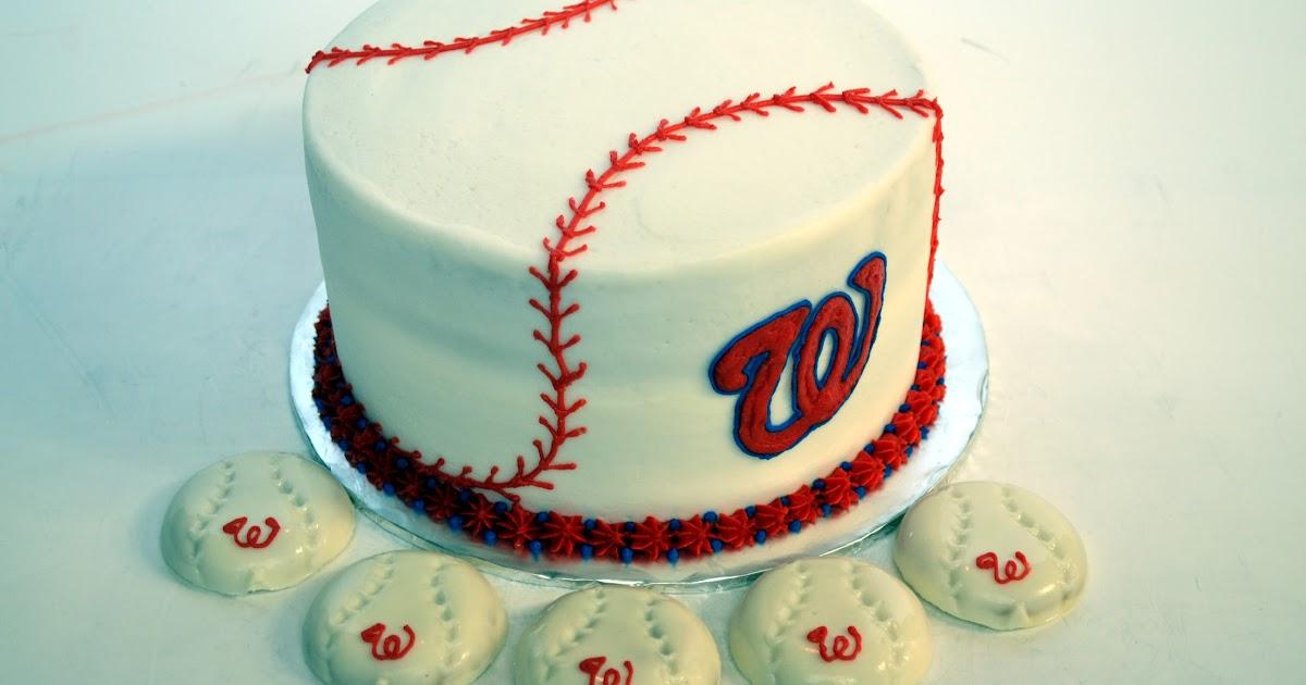 Washington Nationals Birthday Cake