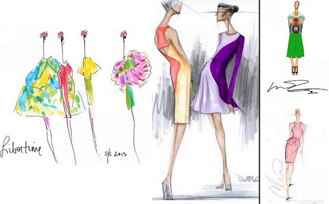 spring 2013 fashion illustration