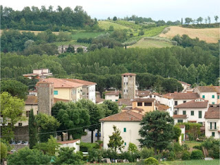 The village of Terranuova Bracciolini, near Arezzo, where Bracciolini was born and which was renamed in 1862