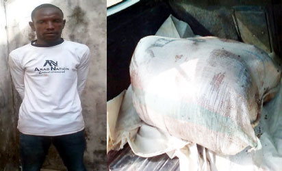 How Man Butchers Co-worker, Puts Him In A Bag And Dumps In Bush (Photo)